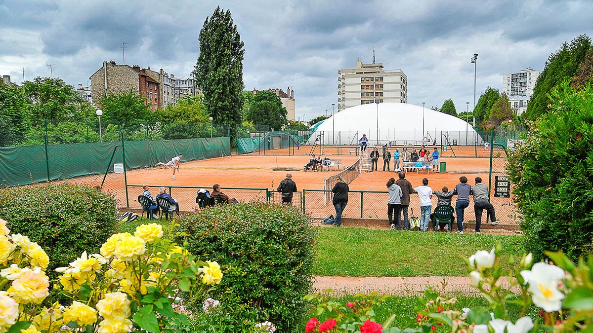 Terrains maisons alfort tennis club matc for 7 avenue du general de gaulle maison alfort